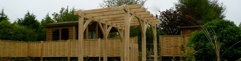 Garden Rooms Wood Work and Timber Frame Buildings Cumbria