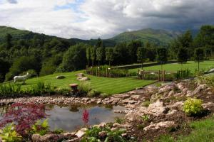 Garden planting tailored to provide colour year round in ambleside