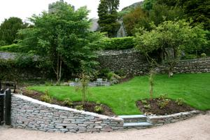 Chapel Style, Langdale, Lake District; the lower garden after landscaping