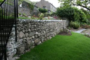 Chapel Style, Langdale, Lake District; our stone steps and walling after works